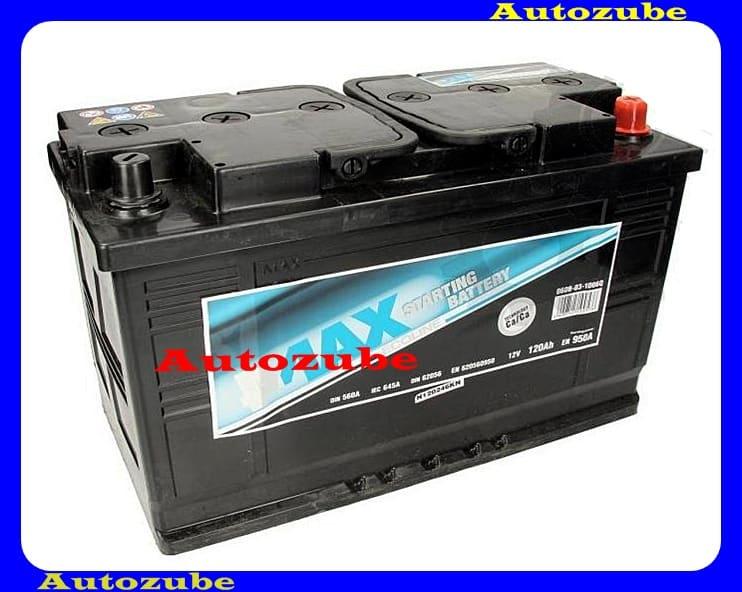 4MAX Akkumulátor 12V 1