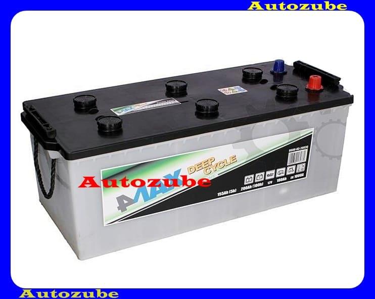 4MAX Akkumulátor 12V 180Ah/1000A bal+, H:513mm Sz: 223mm M:218mm /Pótkocsi, motorcsónak, generátor/ EFBBattery energy [Wh]: 1260, 4MAX