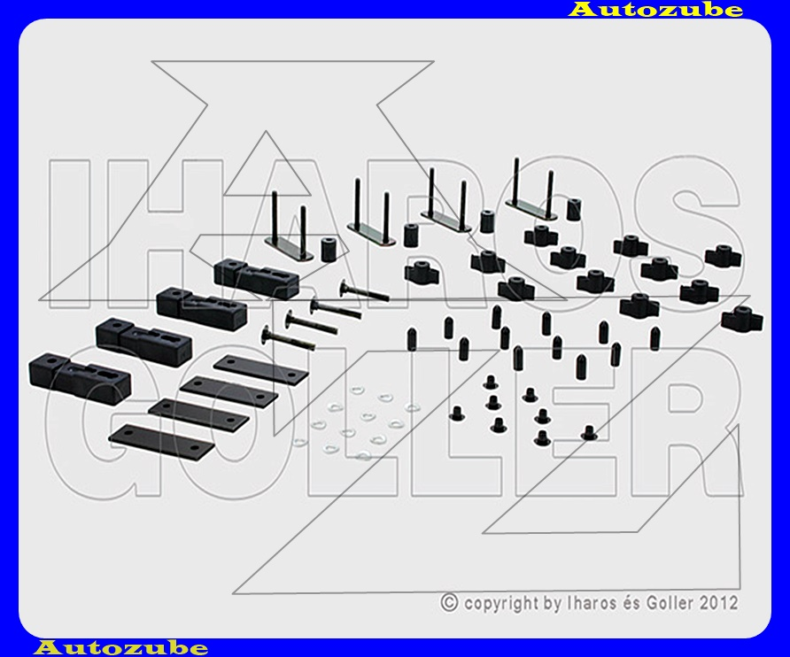 Tetőbox adapter-szett (ld. katalogus) KAMEI