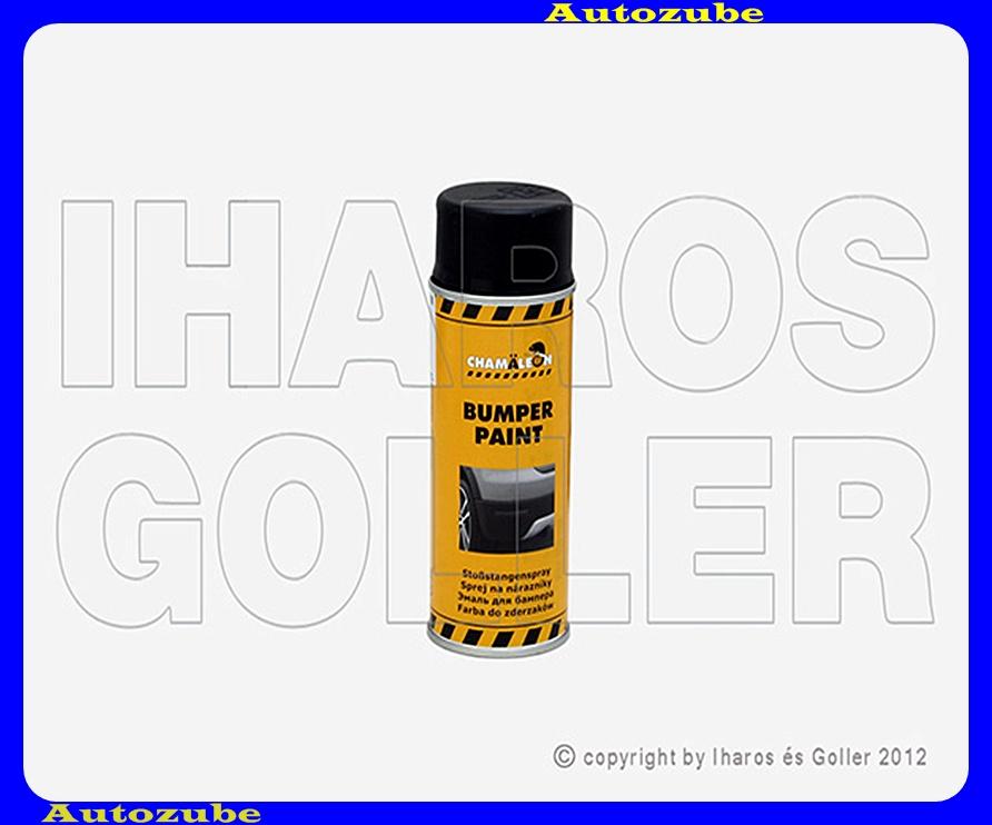 Festék, lökhárítóra, fekete CHAMELEON, 0,4Liter (spray)