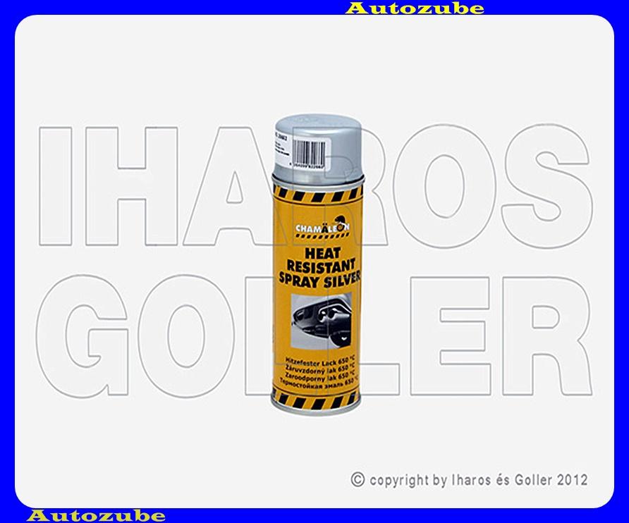 Festék, hőálló, ezüst CHAMELEON, 0,4Liter (spray) Hőállóság: 650 °C-ig