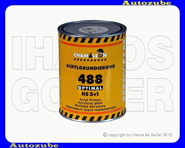 Töltőalapozó szórható, HS 2K-s (2 komponensű)  5:1 fehér CHAMALEON, 1Liter.