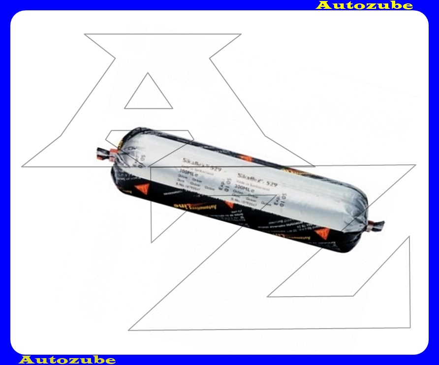Tömítőanyag. Okker, egykomponensű,karosszéria külső és belső részeire. SIKAFLEX-529 AT. 300mL unipack (zacskós) /RENDELÉSRE/