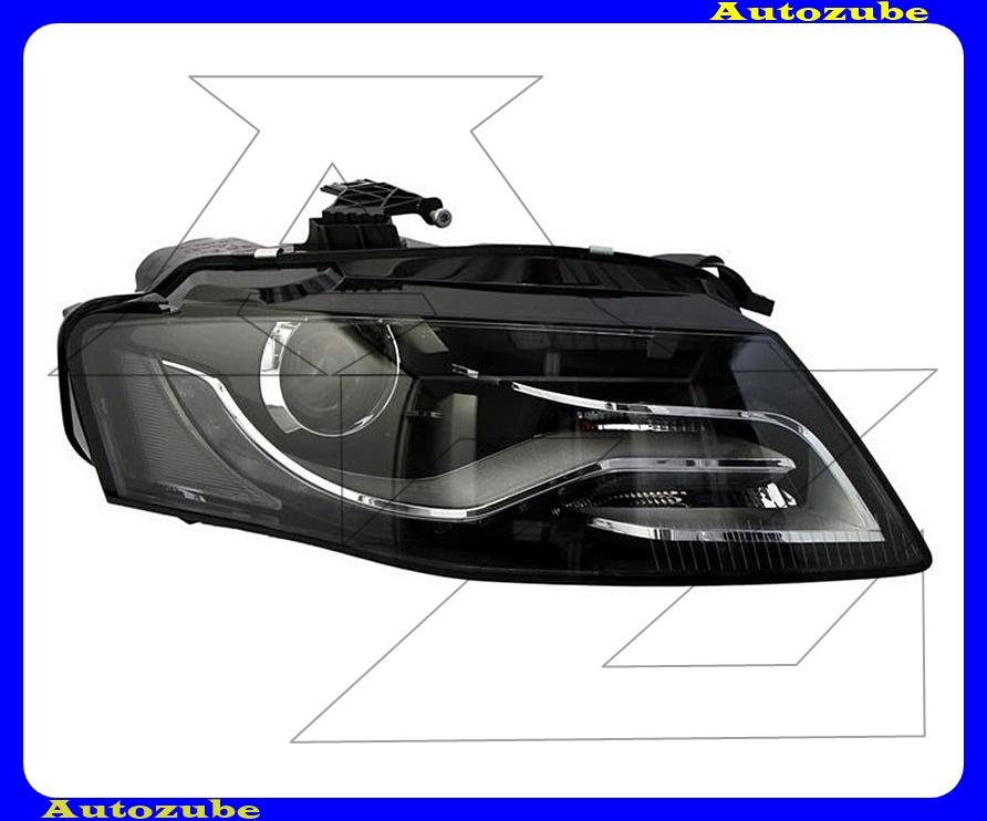 Fényszóró jobb XENON (D3S/LED) nappali fénnyel, motorral (izzó és elektronika nélkül)  {TYC}