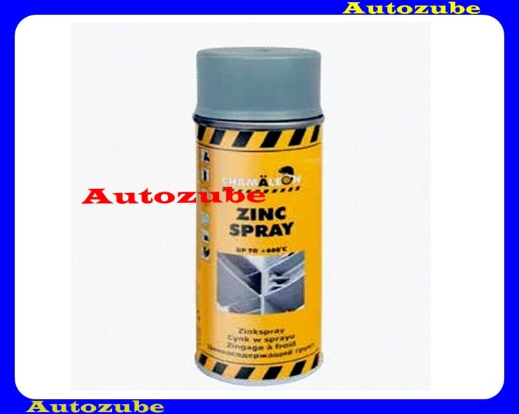 Cinkspray CHAMALEON, 0,4Liter (spray) Kiváló minőségű bevonat, amely több mint 90% cinket tartalmaz száraz rétegbe.