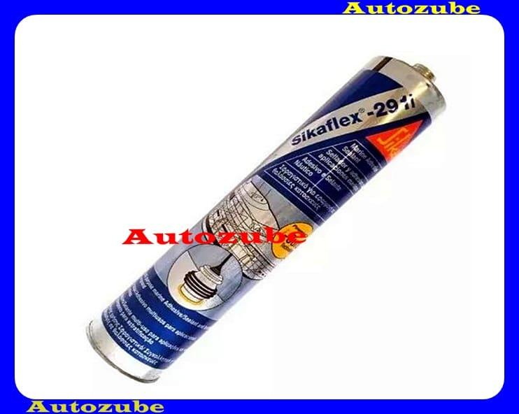 Tömítőanyag hajóipar számára. Fényezhető egykomponensű, poliuretán mely levegőnedvesség hatására elasztomerré köt. SIKAFLEX-291i 300mL kartus