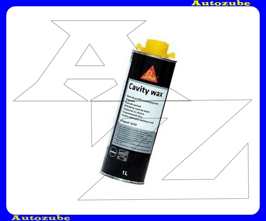 Üregvédő viasz. Sárga, tartós hatású viasz bevonat, kiváló korróziógátló tulajdonsággal. SIKAGARD-6220. 1Literes flakon