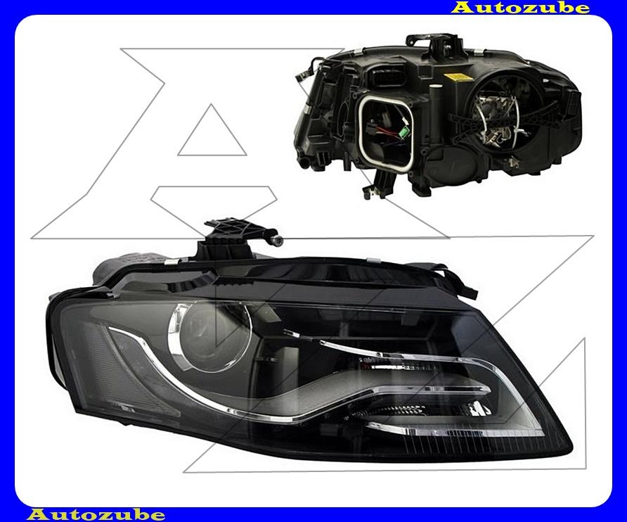 Fényszóró jobb XENON (D3S/LED) nappali fénnyel, motorral (izzó és elektronika nélkül)  {DEPO}