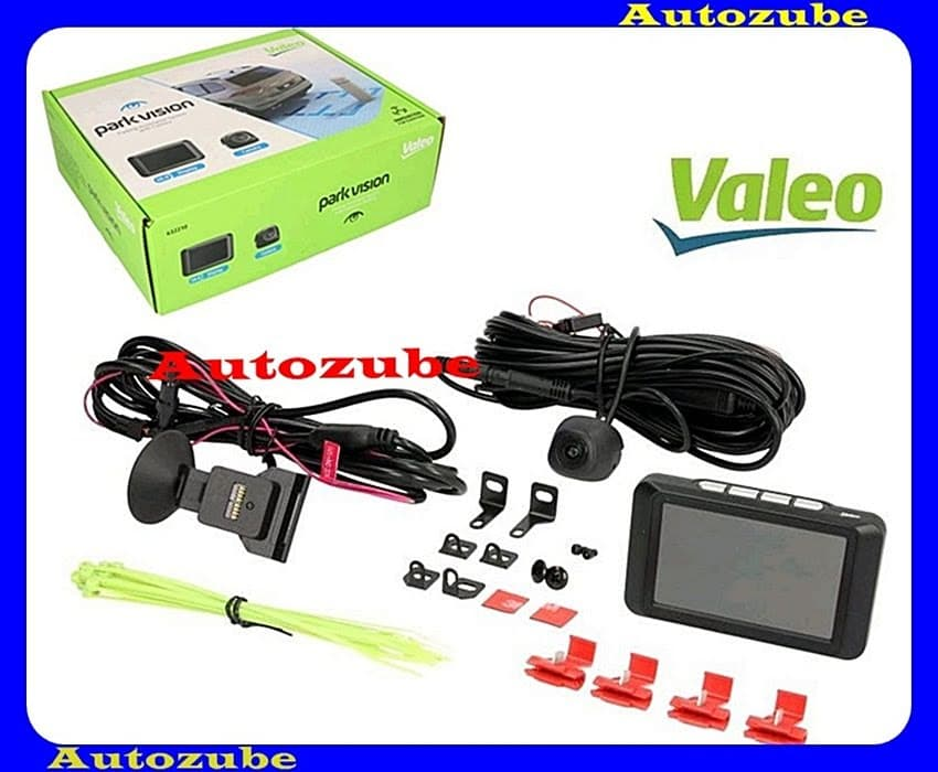 Tolatókamera szett, univerzális, LCD kijelző + kamera, hátsó beépítéshez, vonóhorgoshoz is