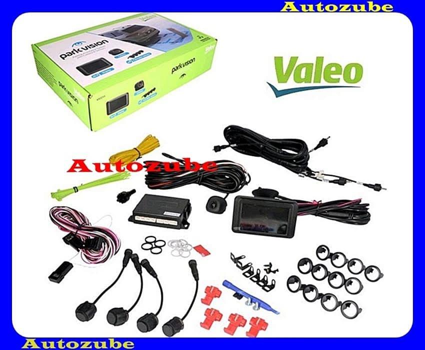Tolatóradar és kamera szett, univerzális, hátsó beépítéshez, LCD kijelző + kamera + 4db szenzor, vonóhorgoshoz is