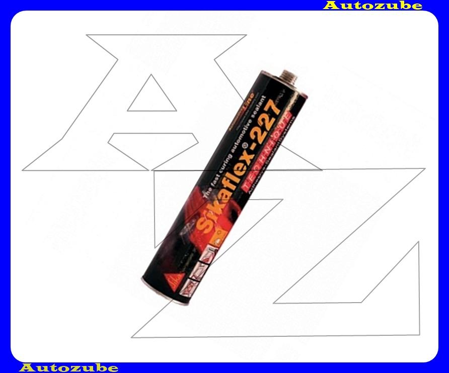 Tömítőanyag. Szürke, egykomponensű, járműjavításhoz kifejlesztett poliuretán. SIKAFLEX-227. 300 mL. kartus