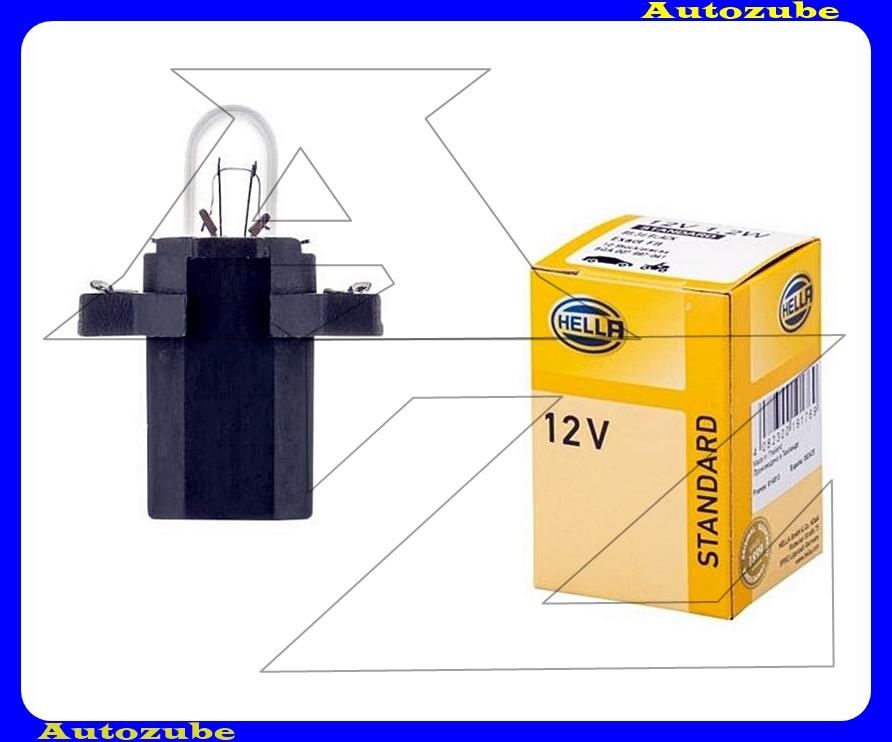 Izzó műszerfal 12V_1,2W  T5  (B8,3d) {HELLA}