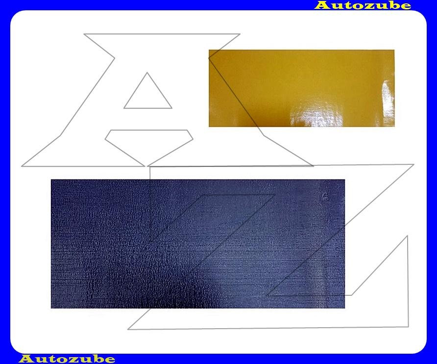 Zajcsillapító, öntapadós (550mm x 250mm x 2mm)