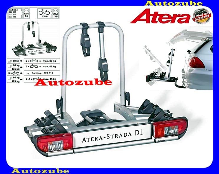 Hátsó kerékpártartó vonóhorogra, 2db kerékpárhoz ATERA STRADA DL
