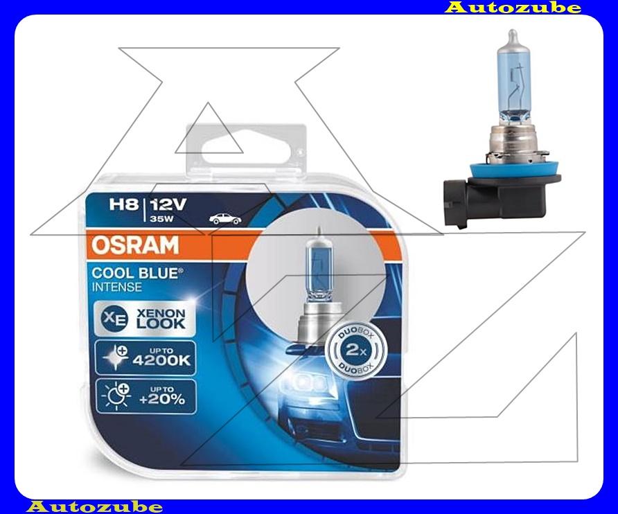Izzó szett H8 12V_35W +20% Cool Blue Intense (2db) Színhőmérséklet 4200K {OSRAM}