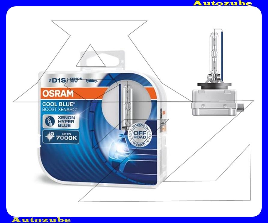 Izzó szett XENON D1S 12V_35W Cool Blue Boost Xenarc (2db) Színhőmérséklet 7000K {OSRAM}