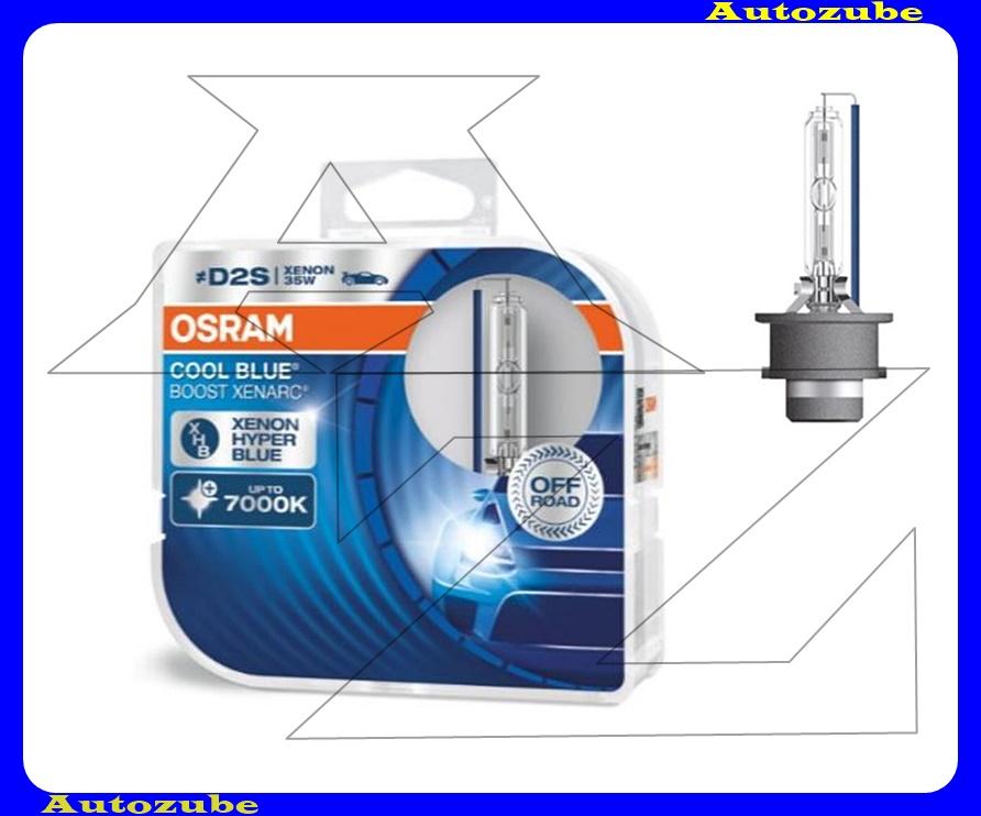 Izzó szett XENON D2S 12V_35W Cool Blue Boost Xenarc (2db) Színhőmérséklet 7000K {OSRAM}