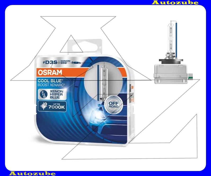 Izzó szett XENON D3S 12V_35W Cool Blue Boost Xenarc (2db) Színhőmérséklet 7000K {OSRAM}