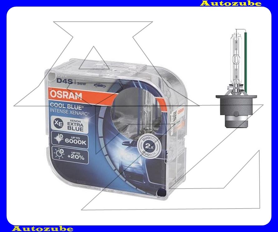 Izzó szett XENON D4S 12V_35W +20% Cool Blue Intense Xenarc (2db) Színhőmérséklet 6000K {OSRAM}