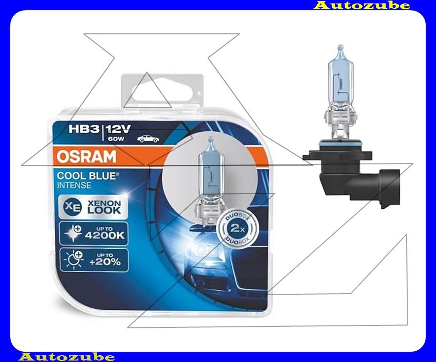 Izzó szett HB3 12V_60W +20% Cool Blue Intense (2db) Színhőmérséklet 4200K {OSRAM}