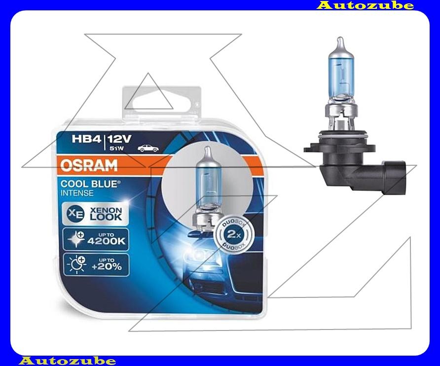 Izzó szett HB4 12V_51W +20% Cool Blue Intense (2db) Színhőmérséklet 4200K {OSRAM}