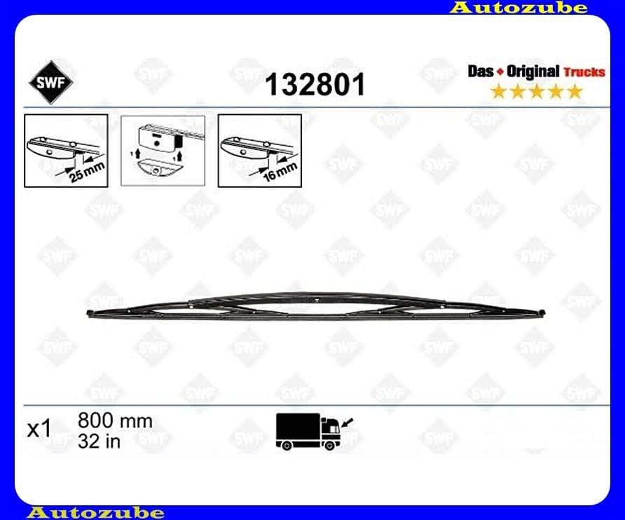 Ablaktörlő lapát (1db/800mm) SWF  /RENDELÉSRE/