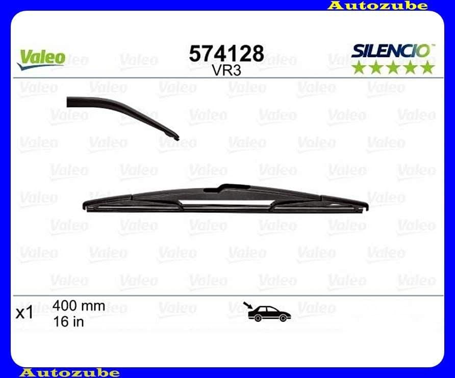 Ablaktörlő lapát Hátsó 1db/400mm (VR3)  {VALEO} SILENCIO PERFORMANCE