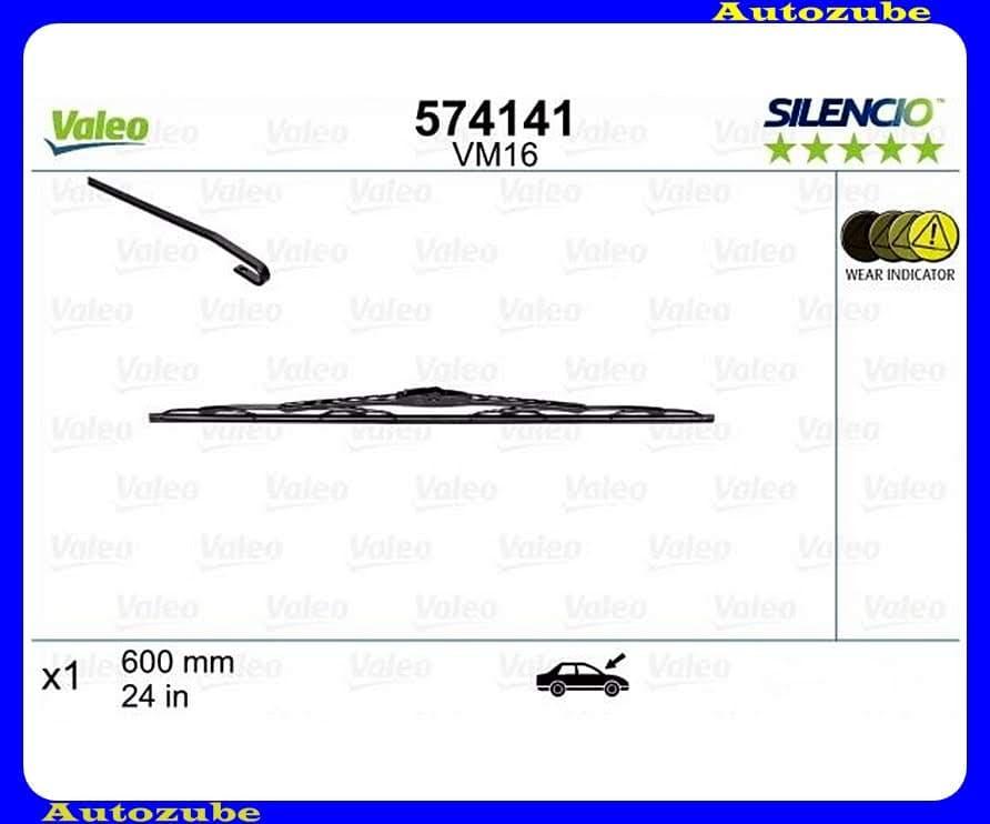 Ablaktörlő lapát első 1db/600mm (VM16)  {VALEO} SILENCIO PERFORMANCE