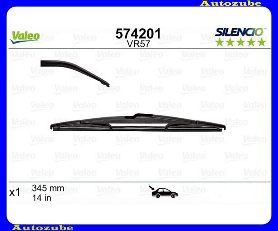 Ablaktörlő lapát Hátsó 1db/345mm (VR57)  {VALEO} SILENCIO PERFORMANCE