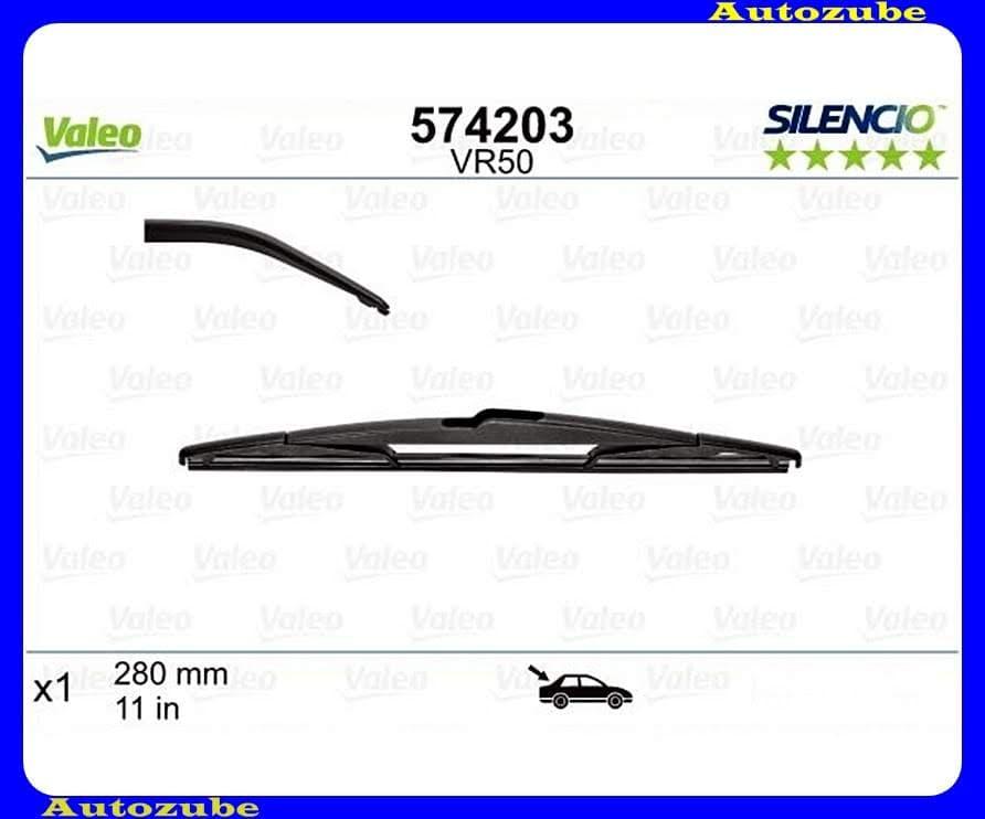Ablaktörlő lapát Hátsó 1db/280mm (VR50)  {VALEO} SILENCIO PERFORMANCE