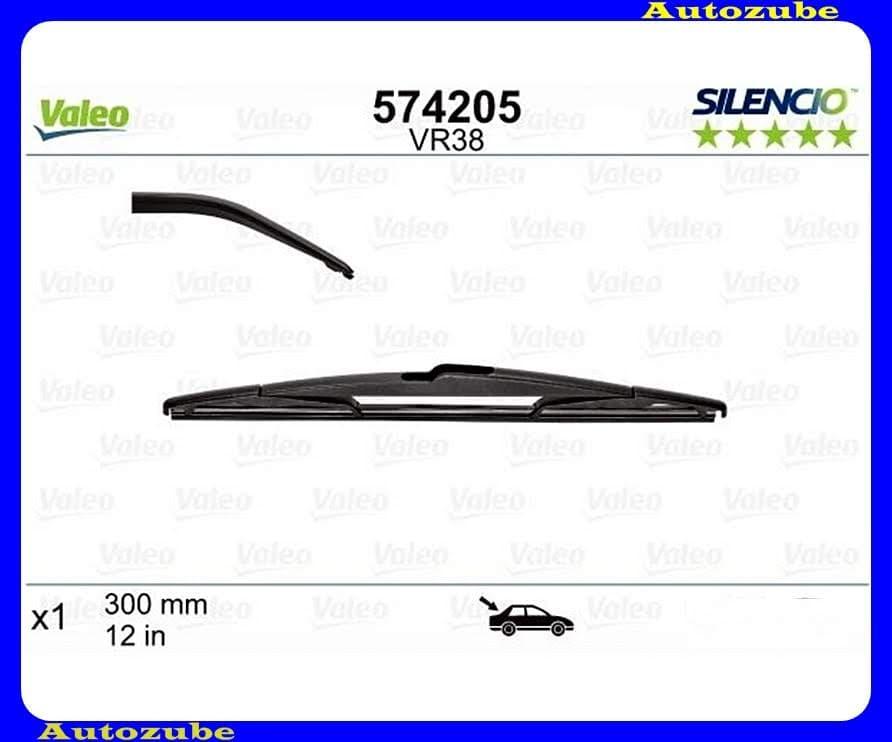 Ablaktörlő lapát Hátsó 1db/300mm (VR38)  {VALEO} SILENCIO PERFORMANCE