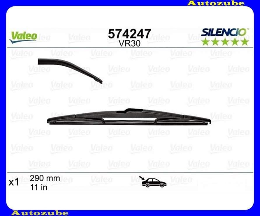 Ablaktörlő lapát Hátsó 1db/290mm (VR30)  {VALEO} SILENCIO PERFORMANCE