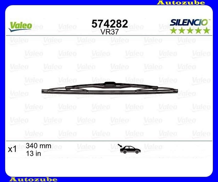 Ablaktörlő lapát Hátsó 1db/340mm (VR37)  {VALEO} SILENCIO PERFORMANCE