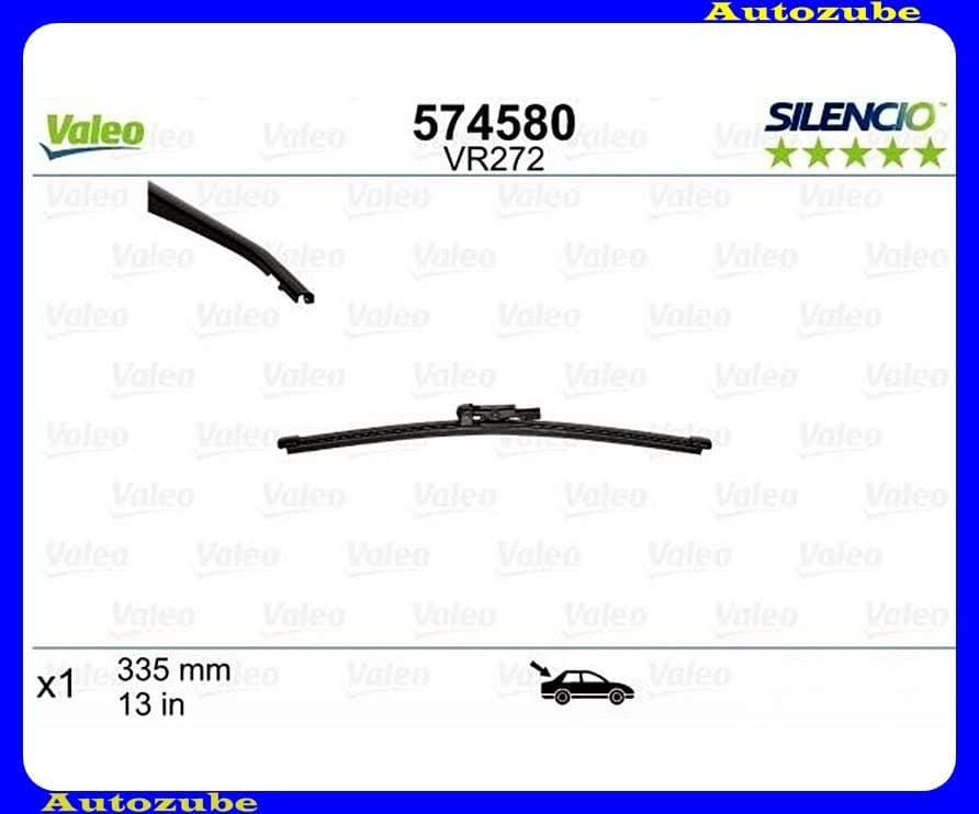 Ablaktörlő lapát hátsó 1db/340mm (VR272)  {VALEO} SILENCIO X-TRM