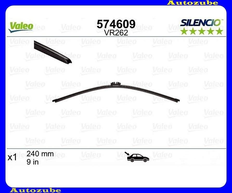 Ablaktörlő lapát Hátsó 1db/240mm (VR262)  {VALEO} SILENCIO X-TRM