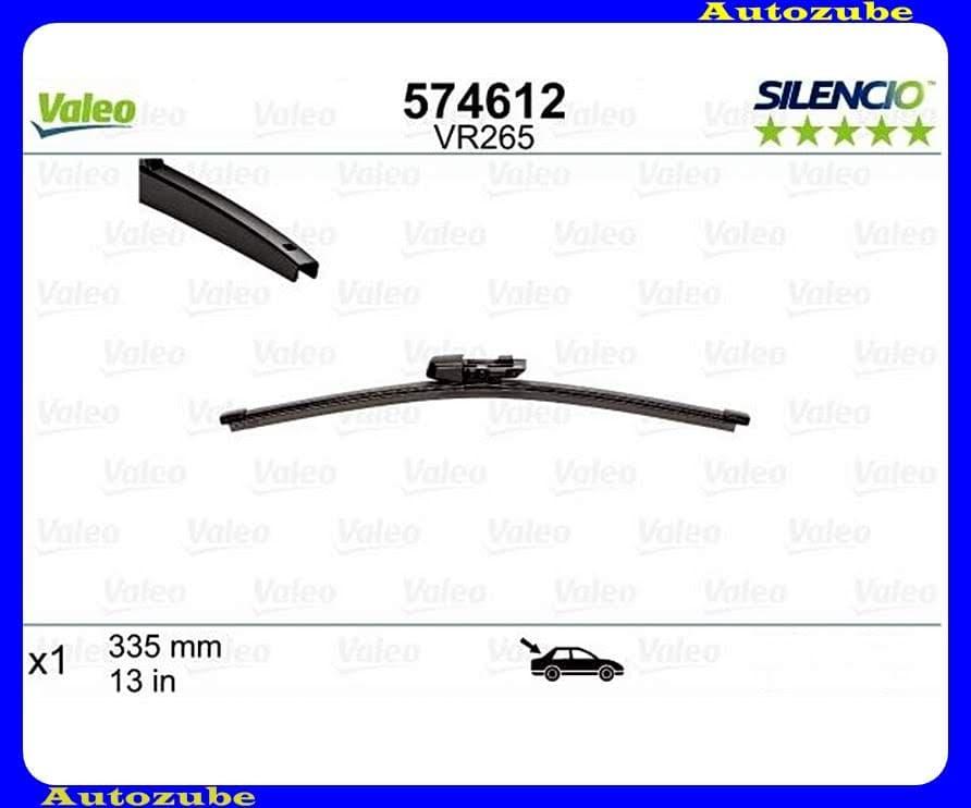 Ablaktörlő lapát Hátsó 1db/345mm (VR265)  {VALEO} SILENCIO X-TRM