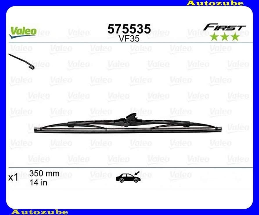 Ablaktörlő lapát univerzális 1db/350mm (VF35)  {VALEO} FIRST