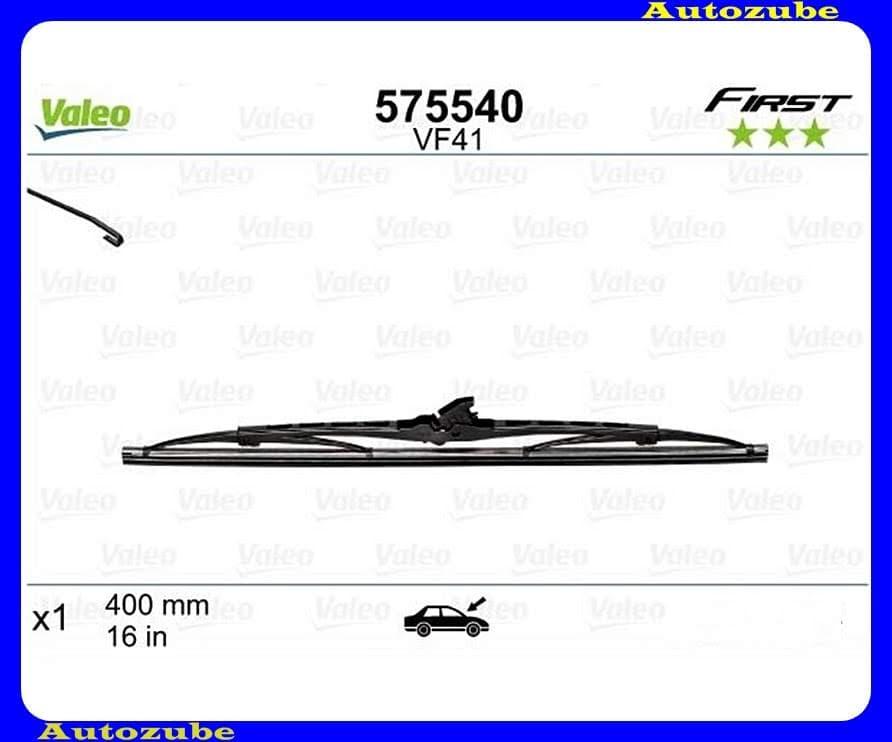 Ablaktörlő lapát univerzális 1db/400mm (VF41)  {VALEO} FIRST