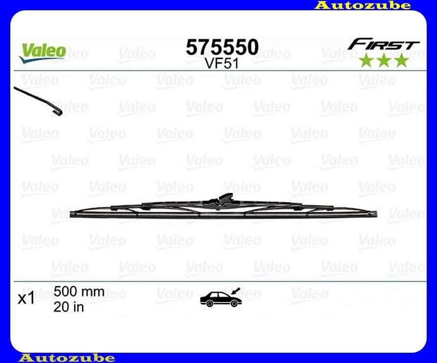 Ablaktörlő lapát univerzális 1db/500mm (VF51)  {VALEO} FIRST