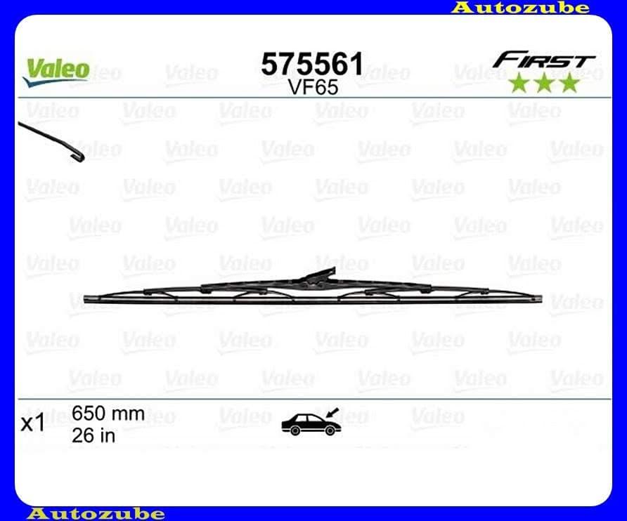 Ablaktörlő lapát univerzális 1db/650mm (VF65)  {VALEO} FIRST