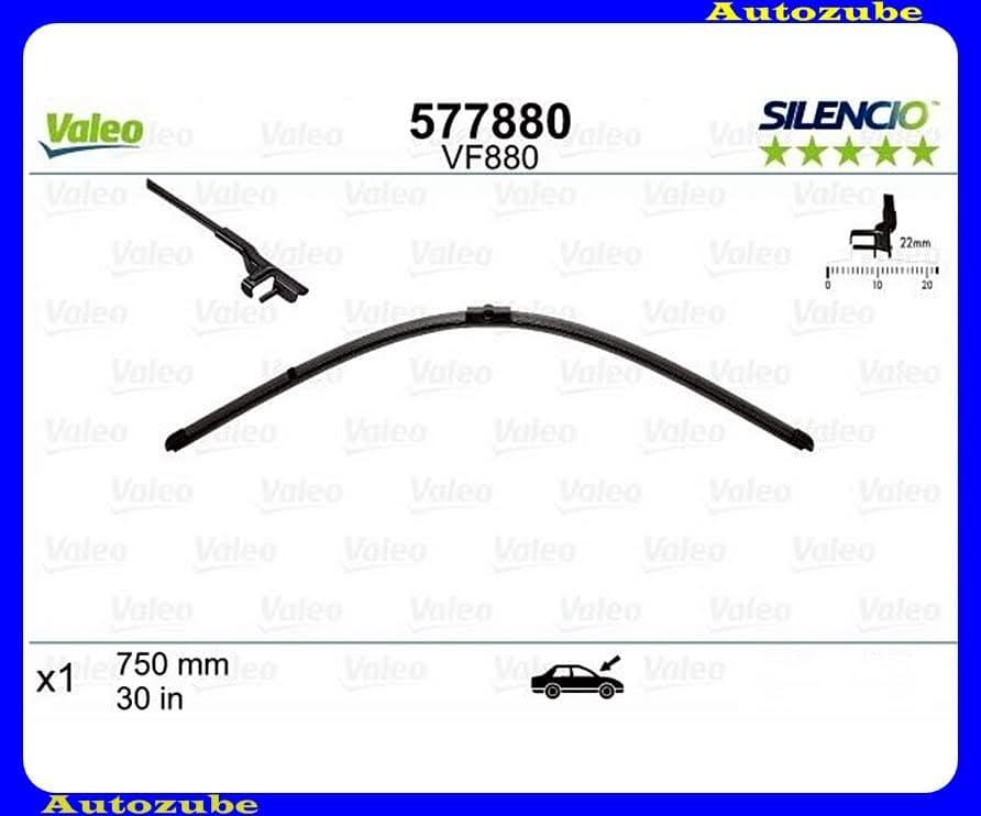 Ablaktörlő lapát első 1db/750mm (VF880)  {VALEO} SILENCIO X-TRM