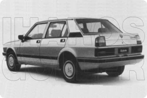 ALFA-ROMEO Giulietta 1978.01-1986.12 /116/