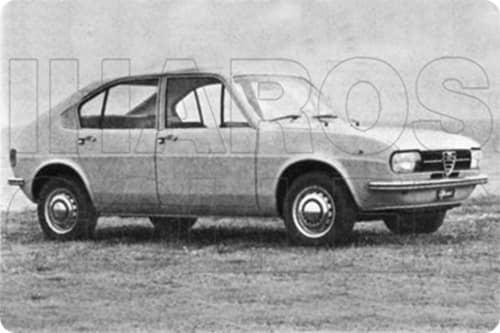 ALFA-ROMEO Alfasud 1971.11-1983.06