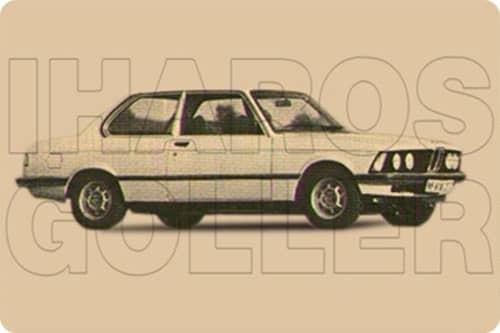 BMW 3 E21 1975.01-1983.11