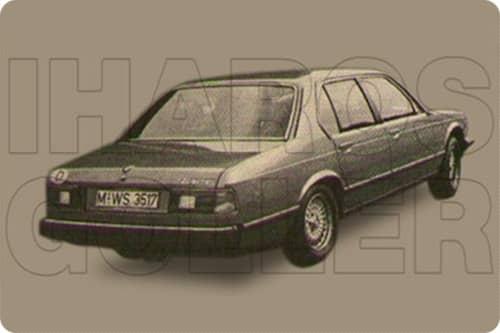 BMW 7 E23 1977.01-1989.10