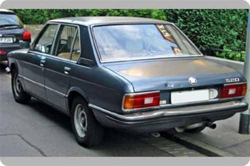 BMW 5 E12 1972.01-1981.05