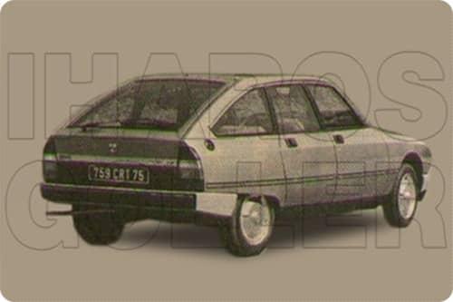 CITROEN GSA 1979.07-1986.12