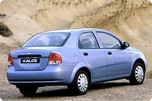 DAEWOO KALOS 2003.01-2007.12 /T200, KLAS/