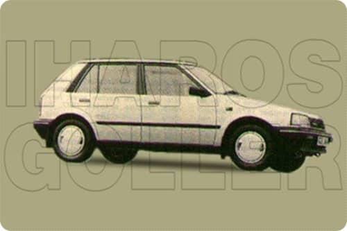 DAIHATSU CHARADE 3 1987.05-1992.12 /G100, G102/