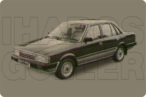 DAIHATSU CHARMANT 1982.01-1986.12